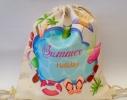 Летняя сумка-рюкзак для пляжа и прогулок Летний отдых фото