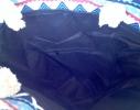Летняя текстильная сумка для пляжа и прогулок Зигзаги фото 1