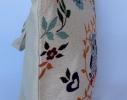Летняя текстильная сумка для пляжа и прогулок Совы в саду фото 1