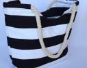 Летняя текстильная сумка для пляжа и прогулок в морском стиле фото 2
