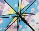 Детский зонтик Котики голубой фото 5