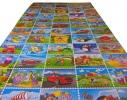Детский коврик Кадры мультфильмов фото 1