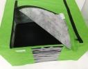 """Короб- органайзер для одежды на молниях с ручками """"Green"""" фото 3"""