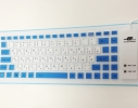 Резиновая гибкая USB-клавиатура Roll фото 1