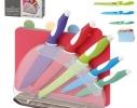 Ножи кухонные на стойке 9пр/наб фото