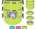 Трехслойный пищевой термос Ланч - Бокс Ассорти фото