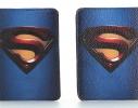 Кожаная обложка на паспорт Супермена фото