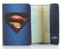 Кожаная обложка на паспорт Супермена фото 1