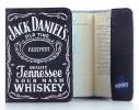 Кожаная обложка на паспорт Jack Daniel's (Джек Дениелс) фото 1