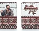 Кожаная обложка на паспорт Украинца фото