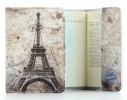 Кожаная обложка на паспорт Париж фото 1