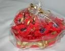 Букет из конфет Влюбленное сердце фото 2
