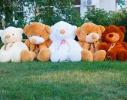 Плюшевый медведь Тедди 100 см Белый фото 1