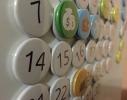 Вечный календарь на магнитах Calendar 32S английский фото 1