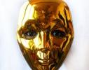 Карнавальная маска блестящяя фото