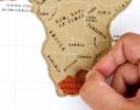 Scratch map White настенная карта мира на английском языке фото 1