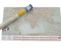 Скретч карта мира Scratch World Map на английском языке фото
