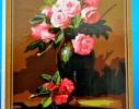 Картина на холсте по номерам Розалии фото