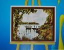 Картина на холсте по номерам Пруд фото