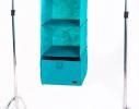 Подвесная полка-органайзер для вещей с ящиком L фото 4