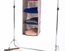 Подвесная полка-органайзер для вещей с ящиком L фото 5