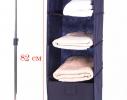 Подвесная полка-органайзер для вещей с ящиком L фото 10