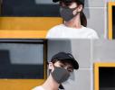 Трехслойная защитная маска многоразовая темно-серая фото 2