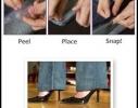 Клипсы для подворота брюк Невидимки фото 2