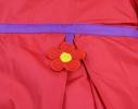 Пальто для девочки Клубничка фото 4
