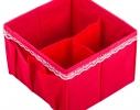 Комплект органайзеров для белья и косметики 5 шт. Кармен фото 2