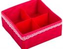Комплект органайзеров для белья и косметики 5 шт. Кармен фото 4