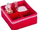 Комплект органайзеров для белья и косметики 4 шт. Кармен фото 4