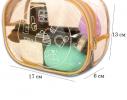 Прозрачная косметичка для бассейна/сауны/путешествий (бежевая), купить, отзывы, цены, фото 1