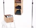 Подвесная полка-органайзер для вещей с ящиком M фото 1