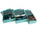 Комплект органайзеров для белья с крышкой Мохито 3 шт фото 2