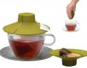 Силиконовая крышка с отжимом Tea Bag Buddy фото
