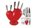 Набор ножей на подставке Love фото 3