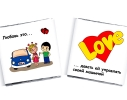 Шоколадный набор Love is Большой фото 1