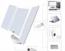 Зеркальце с LED подсветкой и увеличением с зарядкой от USB фото 3