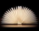 Светильник Книга со страницами фото 1