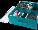 Органайзер для обуви на 6 пар Лазурь фото