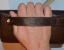 Кожаный клатч мужской ручной m010 фото 2