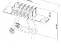 Мангал мобильный-стационар на колесах Mousson Vulcan Мах фото 5, купить, цена, отзывы