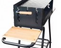Мангал мобильный-стационар на колесах Mousson Vulcan Мах фото 2, купить, цена, отзывы