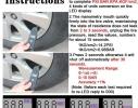 Электронный цифровой манометр для шин фото 1