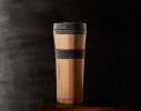 Термокружка Bronze с резинкой Starbucks фото 1