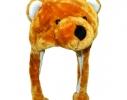 Шапка с ушками Бурый медведь фото