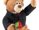 Поющий медведь Джентльмен фото
