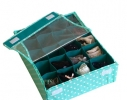 Органайзер для белья на 20 ячеек с крышкой фото