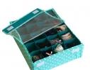 Комплект органайзеров из 2 шт с крышками Мохито фото 3